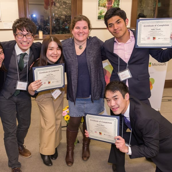 TOMODACHI Group with Certificates